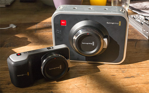Blackmagic Design's 2013 Cameras